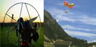 A paragliders broken rope at a height of 150 feet the pilot and the tourist died