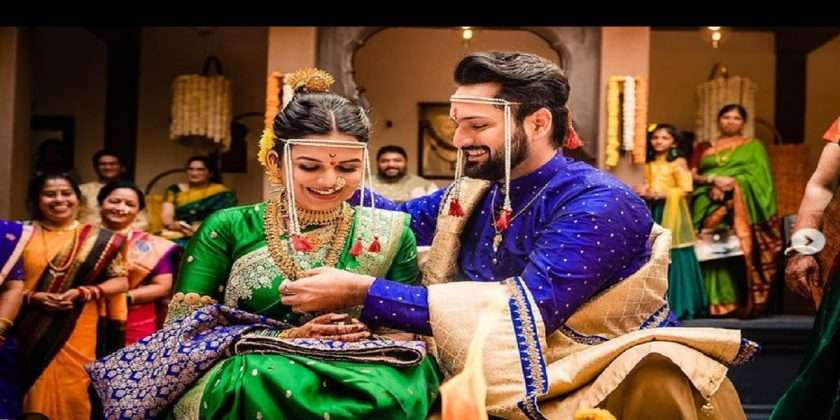 Siddharth Chandekar and Mitali Mayekar get hitched