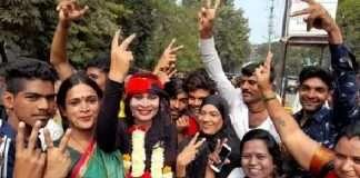 transgender anjali patil wins in gram panchayat election
