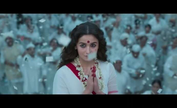 Alia Bhatt look in Gangubai Kathiawadi