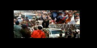 Demonstration of strength on pooja chavan suicide case sanjay rathod visits pohardevi