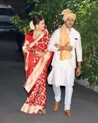 bollywood actress dia mirza wedding ceremony photo