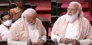 Pm Modi became emotional while talking about Ghulam Nabi Azad in rajyasabha