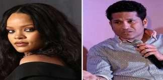 Rihanna and Sachin