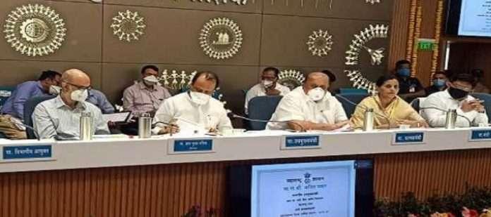 deputy minister ajit pawar distribute fund to nashik reagion and vidarbha district