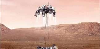 Nasa Mars rover: Perseverance robot heads for daunting landing