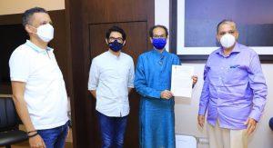 Milind Narvekar, Uddhav Thackeray, Aditya Thackeray, Vikas Kakatkar