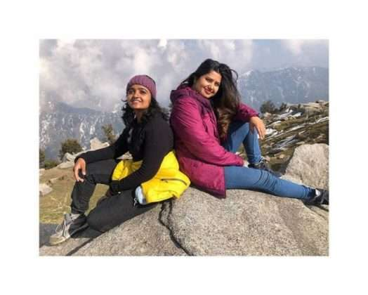 Prajakta mali's enjoying vacation in himachal pradesh