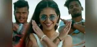 Priya Prakash Varrier Smoking Hookah and Dance on Beach in Check Ninnu Chudakunda Video Song