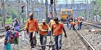 mega block on central and harbour line tomorrow