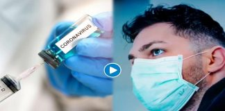 A person suddenly started speaking in another language after getting Corona vaccine video viral on social media