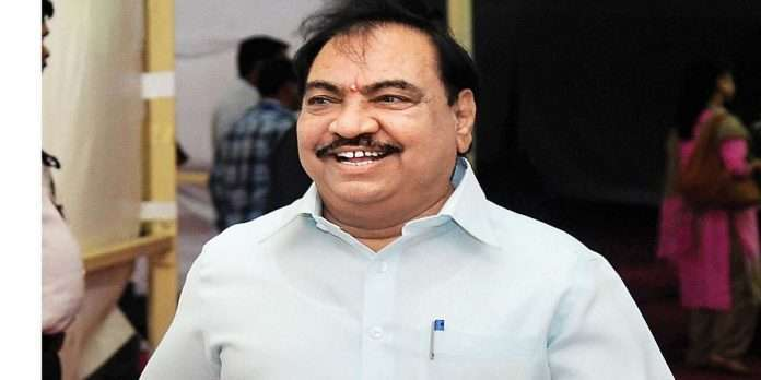 eknath khadse admitted in bombay hospital for critical surgery