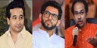 Nitesh rane raised question on uddhav thackeray and aditya thackeray over sachin vaze
