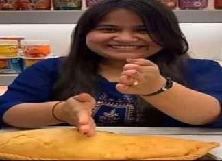Holi 2021: lucknow sweet shokeeper made Bahubali Kanrji