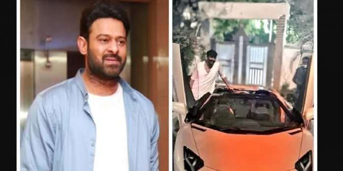 Prabhas buys new luxury car worth Rs 6 crore, goes on a ride in Hyderabad
