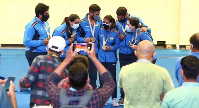India's best performance, the highest 30 medals in the Shooting World Cup