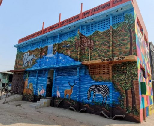 Unique toilets for women and the disabled in Shivdi