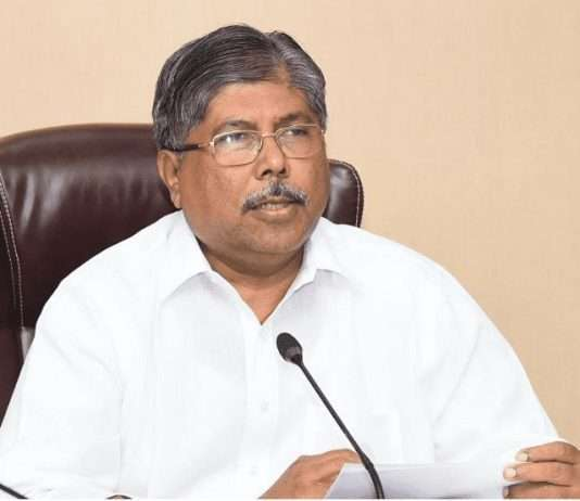 Chandrakant Patil criticizes the state government on strict lockdown in state