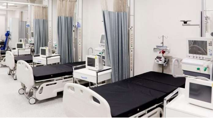 Hospital beds will be planned through the ward's warroom, and beds will not be provided directly