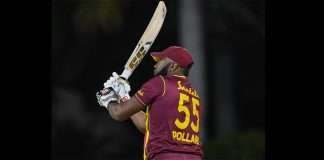 pollard hits six sixes in an over