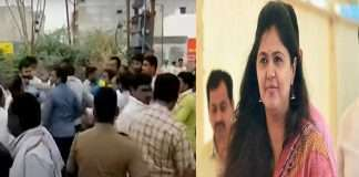 BJP and NCP workers clashed at Parli polling station BPJ Leader Pankaja Munde's reaction