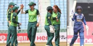 sa women team and mithali raj