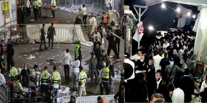 44 people killed in a stampede at a bonfire festival in Israel
