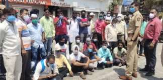 Patient protest in Nashik as they are not getting oxygen for bed with remdesivir injection