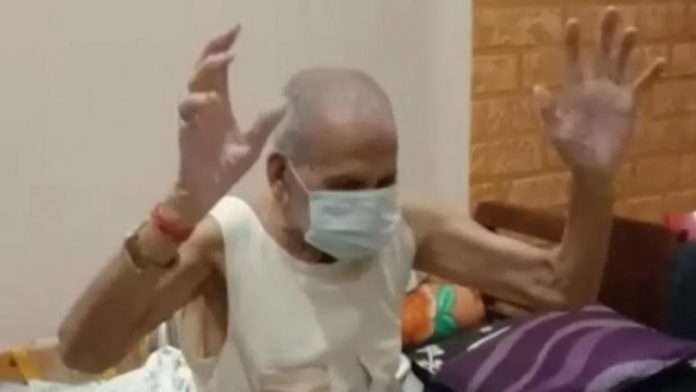 92-year-old Tulsiram Sethia recovered from Corona