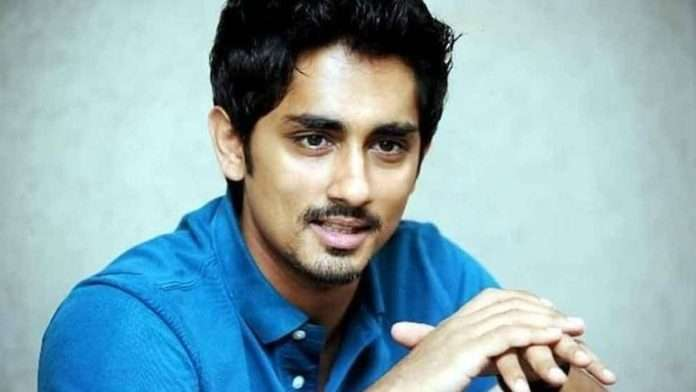 Actor Siddharth receives death threats from BJP's IT cell