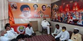 Ajit Pawar held a meeting at Shiv Sena office