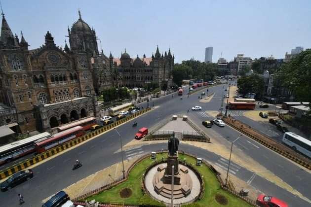 Photo: Mumbai Lockdown Break The Chain second day in Mumbai