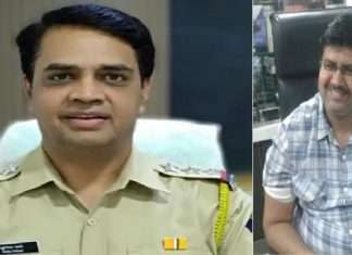 Mansukh Hirean Death Case Police officer Sunil Mane suspended from police force