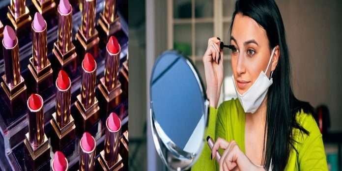 Masks affect makeup, decline in beauty products business