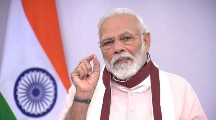 PM Modi big announcement Preference in government jobs for those who complete 100 days of covid 19 duty