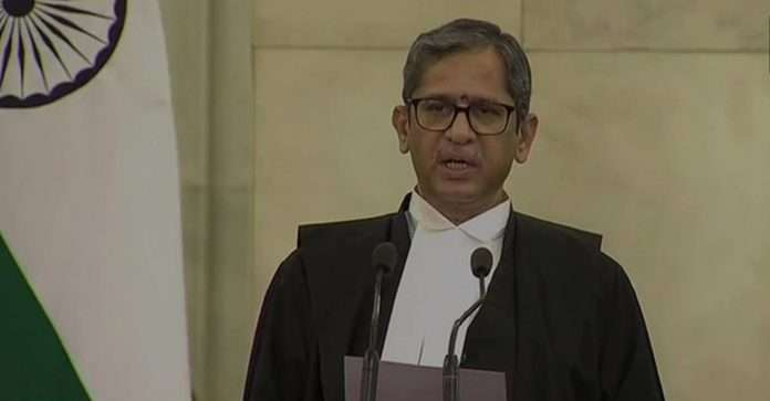 NV Ramana takes oath as the new Chief Justice of India