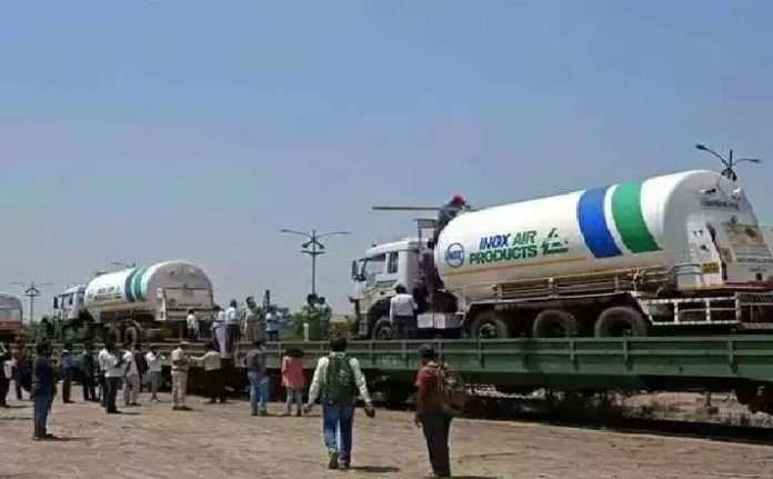 Oxygen Shortage: big relief to Maharashtra Oxygen Express arrives in Gondia