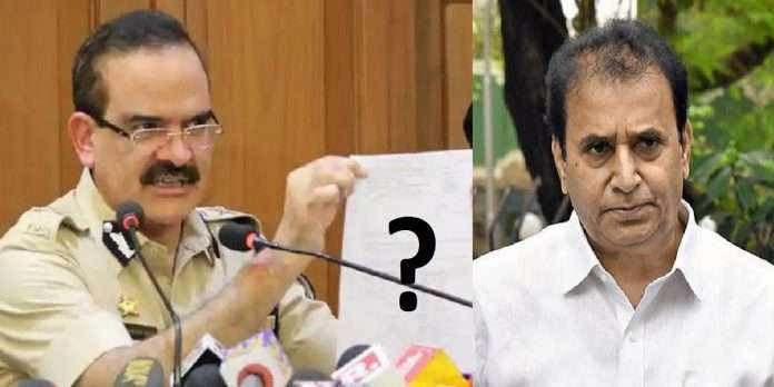 PARAMBIR SINGH LETTER ANIL DESHMUKH Sanjay Patil did not mention about Rs 100 crore CBI INQUIRY