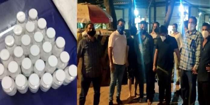 Remdesivir Black Market: Sale of Remdesivir from kitchen of hotel in Goregaon, Mumbai Police Crime Branch seize 26 injections