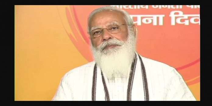 bjp foundation day 2021 pm narendra modi Criticism of opposition parties
