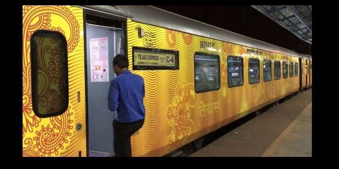 IRCTC one month suspended ahmedabad mumbai tejas express due to increase covid 19 cases