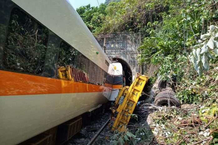 Taiwan train accident 36 people have died and 72 injured