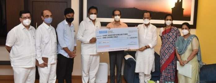 contribution to the Corona crisis Rs 2 crore from NCP Welfare Trust and NCP in CM Assistance Fund