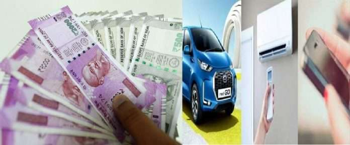 mobiles, vehicle prices and air travel will also become more expensive from 1st april