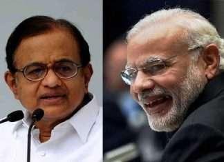 congress p chidambaram criticises modi government over vaccination in india