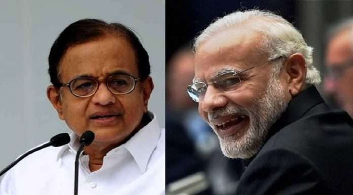 congress p chidambaram criticises modi government over vaccination in india