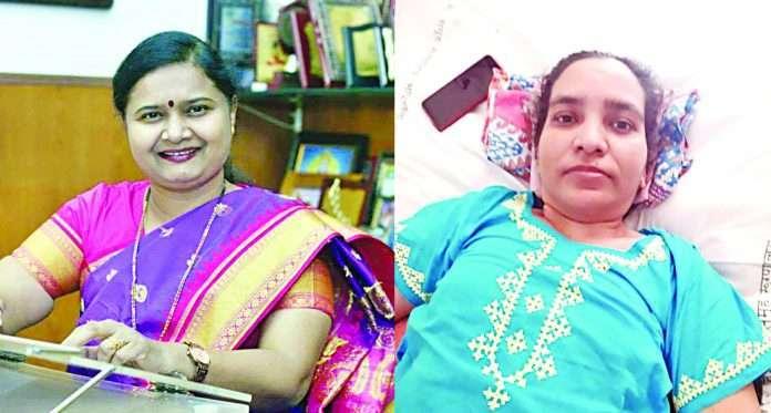 dr. Rajshree Katke and rehana shaikh