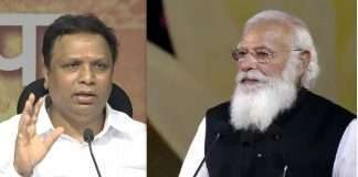 ashish shelar slams rulling party leader over criticism on modi lockdown decision