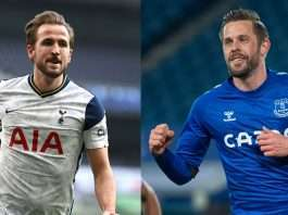 harry kane and gylfi sigurdsson