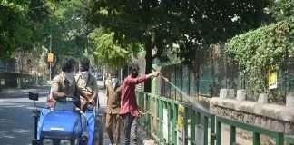 Sodium hypochloride spraying started in Thane city